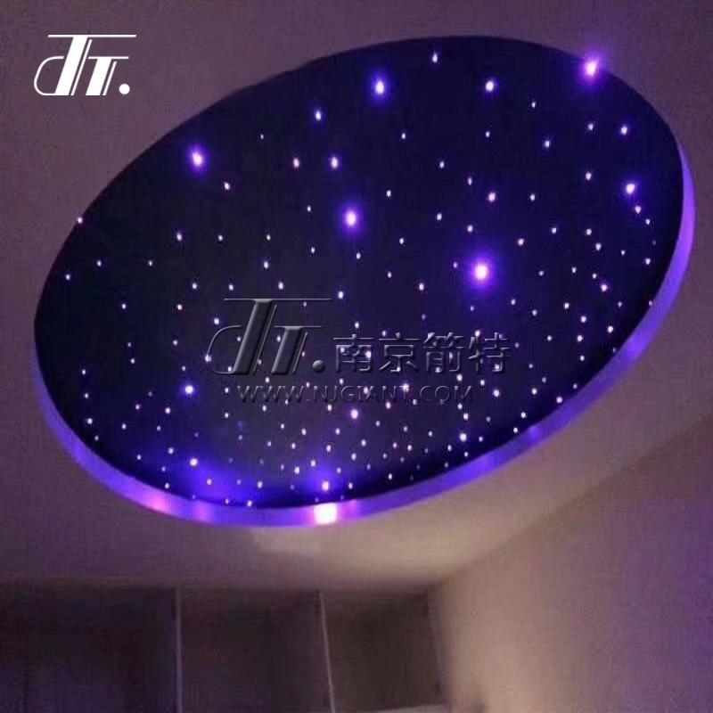 Fiber optical star ceiling tile, oem fiber optic ceiling light kit