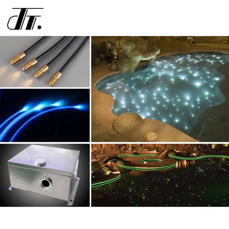 Single core fiber optic cable, fiber optic light cable