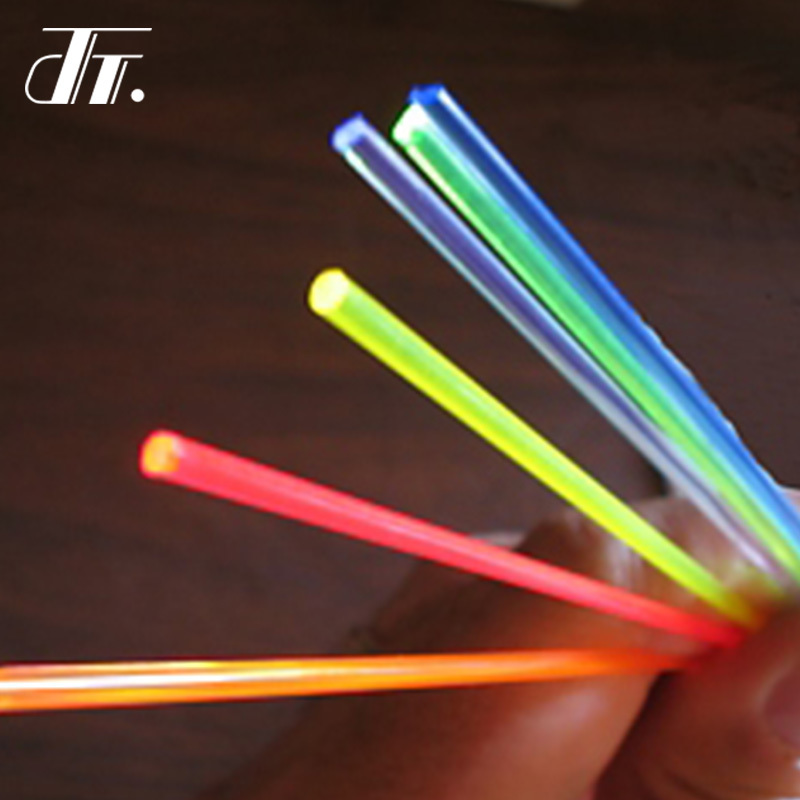 Tactical replacement high brightness glow stick fluorescence fiber optic sight rod green/red/orange for bow and gun sight