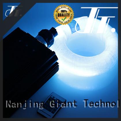 Njgiant 3d fiber optic pool lighting custom for chandelier