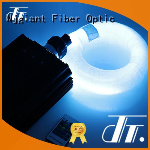 Njgiant 3d fiber optic light kit directly sale for indoor