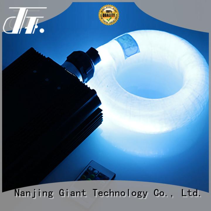 Njgiant led fiber optic decorative lighting manufacturer for restaurant