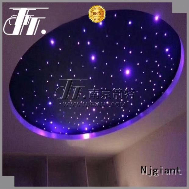 Njgiant led fiber optic light custom for restaurant