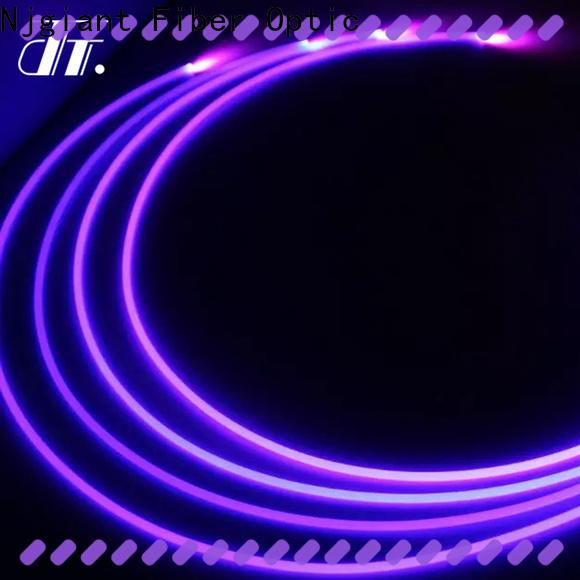 Njgiant fiber optic light cable company bulk production