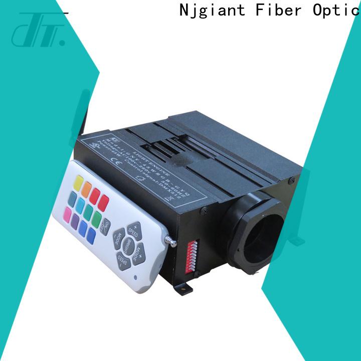 metal fiber optic projector wholesale for indoor use