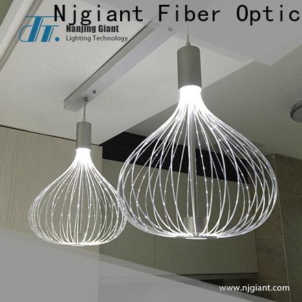 Njgiant high quality fiber optic light kit directly sale for restaurant