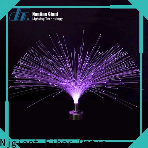 Njgiant led fiber optic lighting kit series for indoor