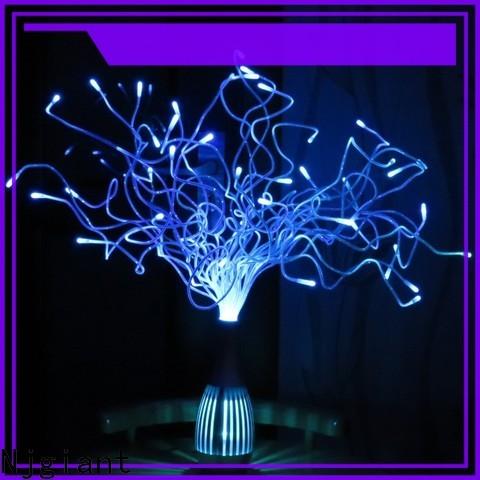 Njgiant optical hanging fiber optic lights wholesale for chandelier