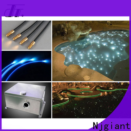 Njgiant led fiber optic cable series for indoor