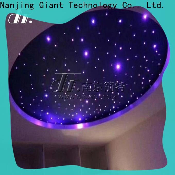 Njgiant fiber optic fairy lights custom for restaurant