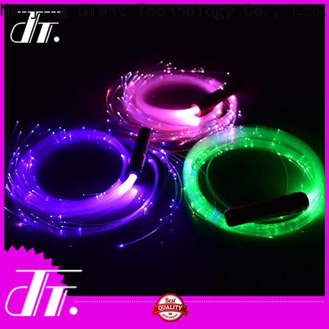 Njgiant cheap fiber optic party lights factory direct supply bulk production