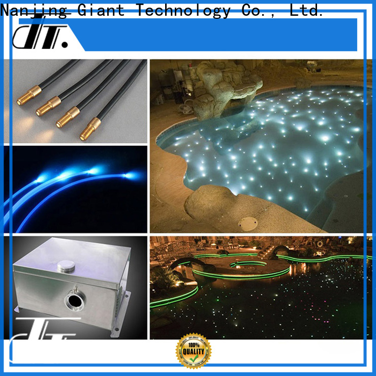 Njgiant plastic fiber optic cable lighting custom on sale