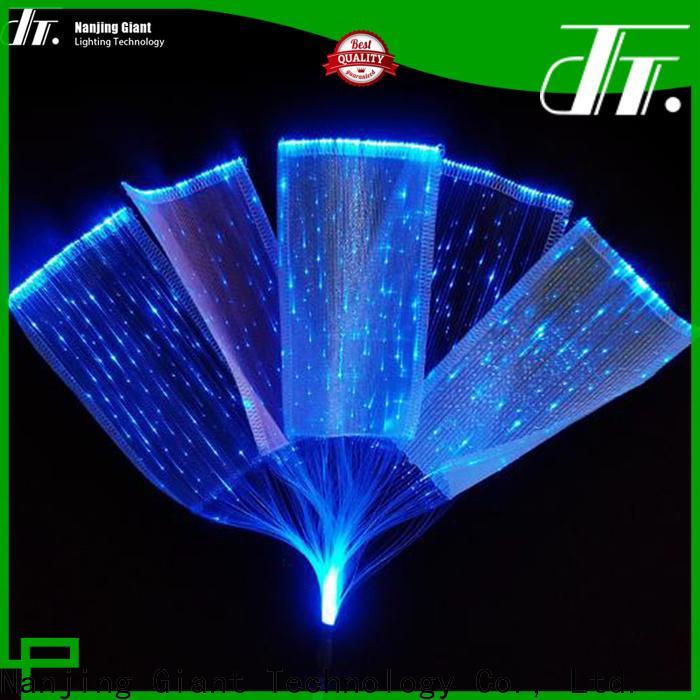 Njgiant sparkle plastic fiber optic lighting series for promotion