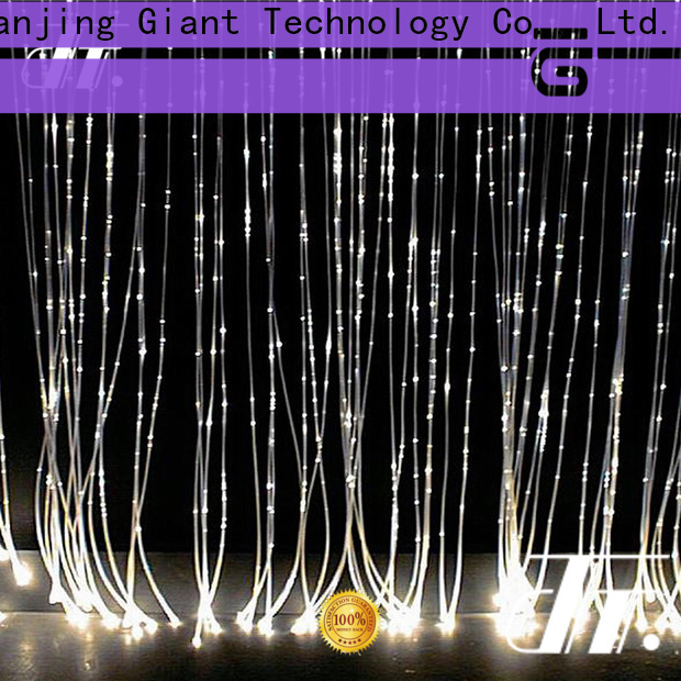 sparkle plastic fiber optic lighting directly sale for indoor