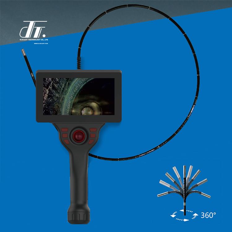 Portable Flexible Cystoscope Video Electronic Endoscope